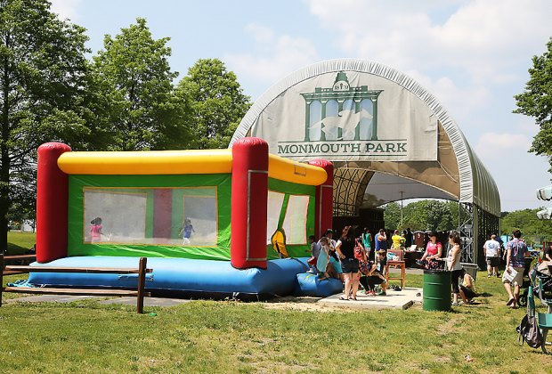 All activities are free at Monmouth Park's Family Fun Days, held every Sunday during the summer. Photo courtesy of the park