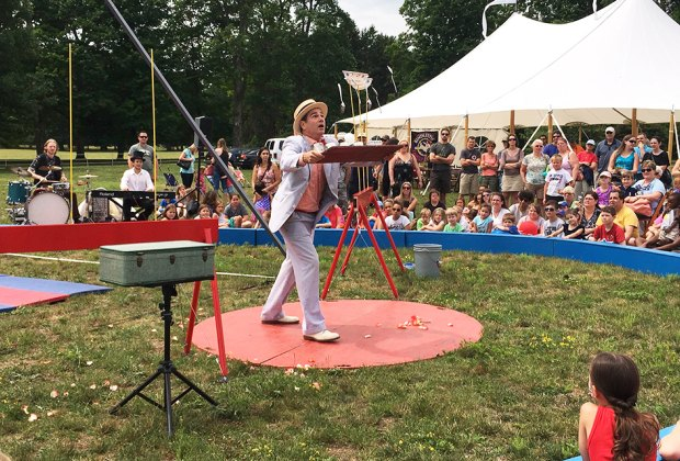 See a variety of amazing acts at the 3rd annual Family Fun Festival in Hyde Park. Photo courtesy of the park