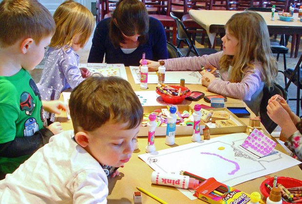 Find your artistic inspiration at Family Sunday programs at the Nassau  County Museum of Art. Photo courtesy of the museum