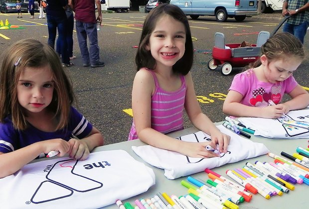 Fannywood Day Street Fair is full of activities to keep the kids busy. Photo courtesy of the fair