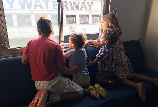 Take the ferry to Governors Island for a day of adventure. Photo by Sara Marentette