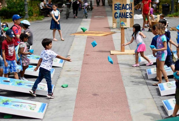 Get your best beach game going at Summer Streets 2018.