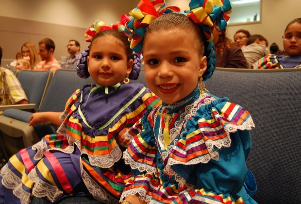 Celebrate Fiestas Patrias with ballet folklorico, re-enactments, and more. Photo courtesy of the Children's Museum of Houston.