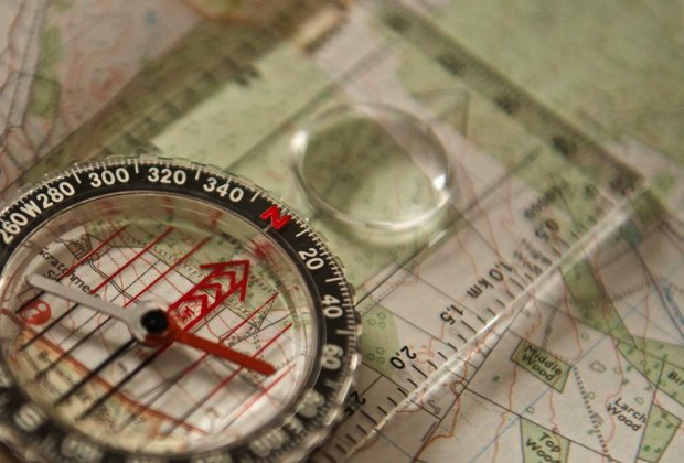 Learn how to navigate at the  Finding Your Way event at Caleb Smith State Park Preserve . Photo courtesy of the preserve