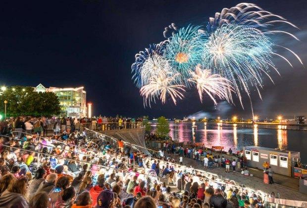 Summer Fireworks at Navy Pier. Photo courtesy of Navy Pier