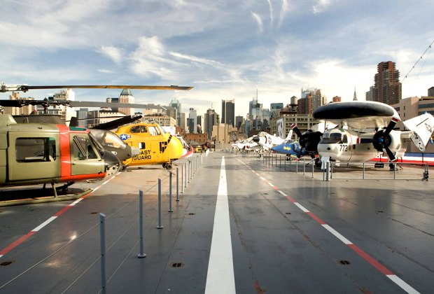 Learn about Jobs on Deck at the Intrepid Museum. Photo courtesy of the Intrepid