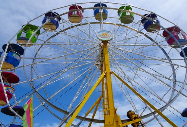 Soar to great heights at the Fol-de-Rol County Fair.  Photo by Susan Miele
