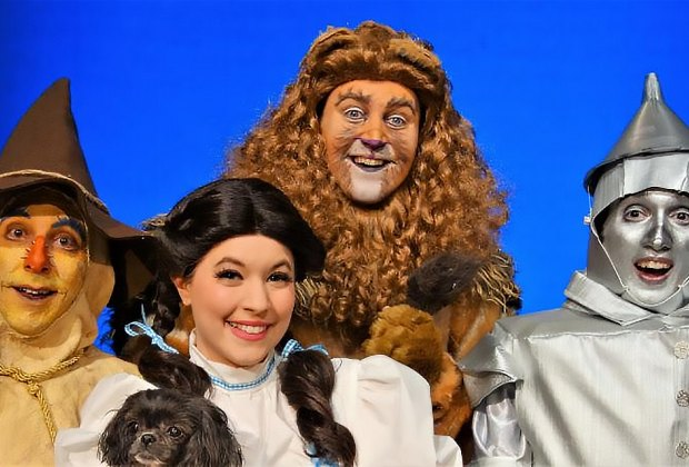 Follow Dorothy down the Yellow Brick Road when the Wizard of Oz comes to Theatre Three. Photo courtesy of the theater