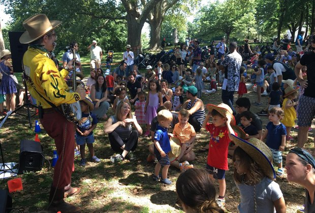 Fort Greene Park's 'Music in the Grove' brings people of all ages together for music, dancing and fun! Photo courtesy of Fort Greene Conservancy