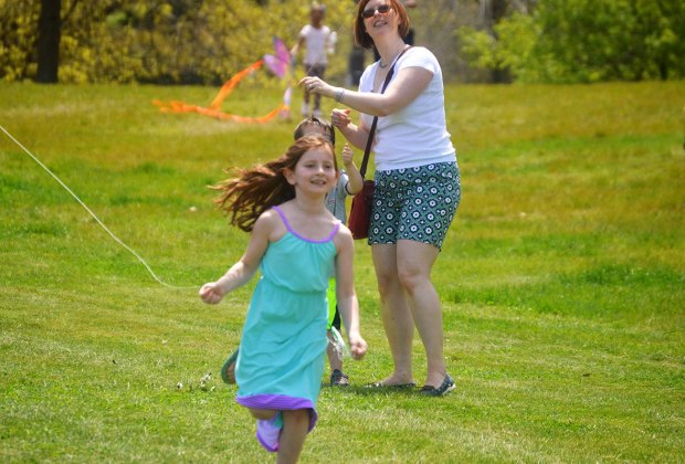Franklin Park Kite & Bike Festival. Photo courtesy of Franklin Park Coalition
