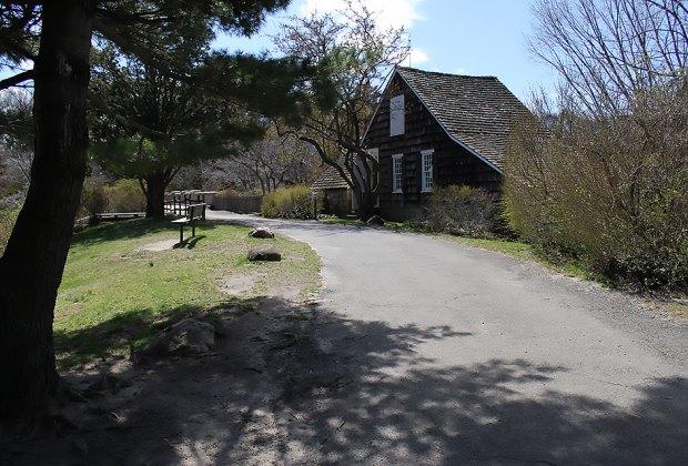 Frank Melville Memorial Park in Setauket.