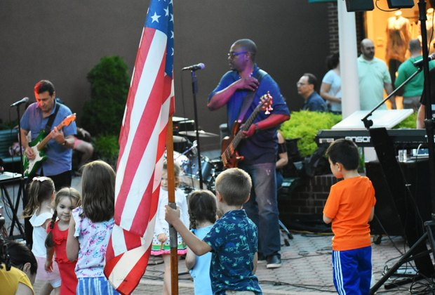 Dance and sing at Friday Night Promenade in Garden City. Photo courtesy of the Garden City Chamber of Commerce