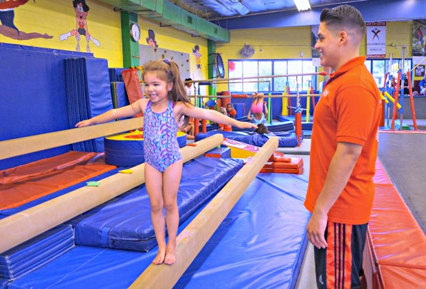 Photo courtesy of Fun & Fit Gymnastic Centers