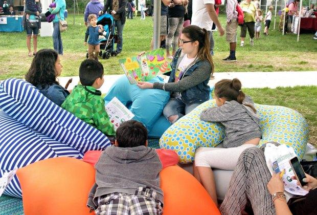 Gaithersburg Book Festival. Photo courtesy of the City of Gaithersburg