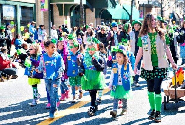 City of Gaithersburg St. Patrick's Day Parade. Photo courtesy of RIO Washingtonian