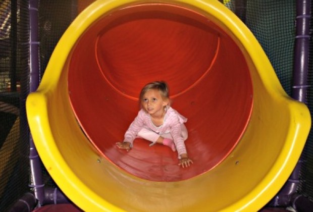 Bounce 'N Play is great for parties or drop-in play