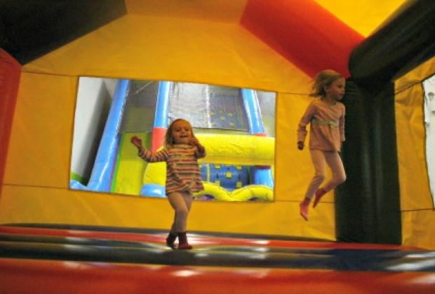 As the name implies, you'll find lots of bouncy fun at Bounce 'N Play