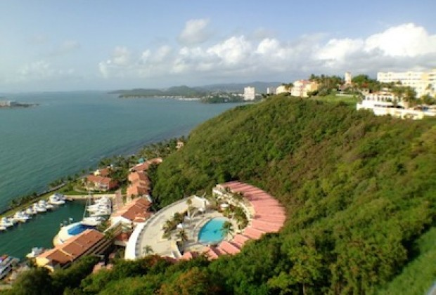 El Conquistador view from Hotel Room