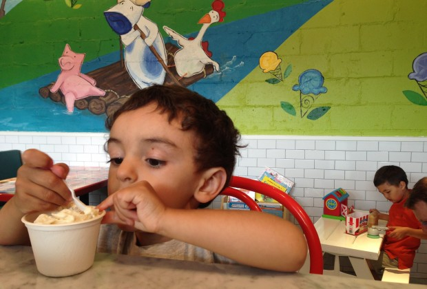 I think my son would have tried all the homemade flavors at Ample Hills Creamery if I had let him!
