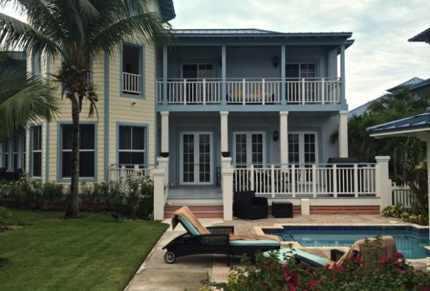 A villa in Key West Village