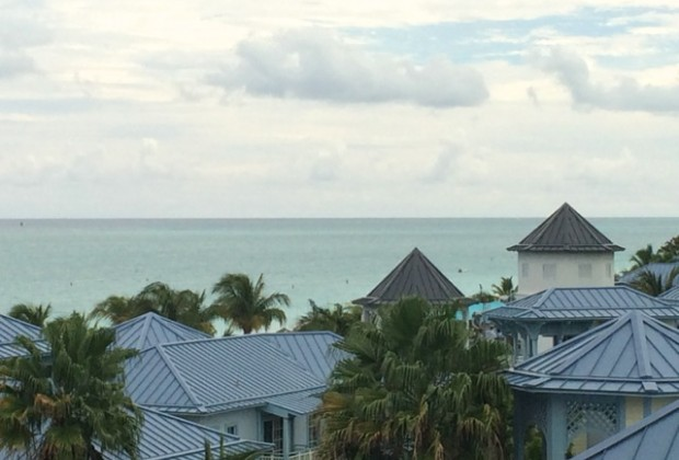 The view over Key West Village