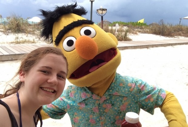 Kids of all ages love meeting the Sesame Street characters