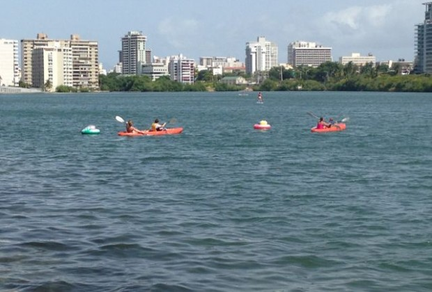 Kayaking in the Condado Lagoon