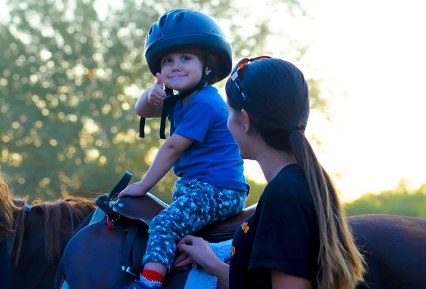 Learn horseback riding basics with Gallop NYC. Photo courtesy of Gallop NYC