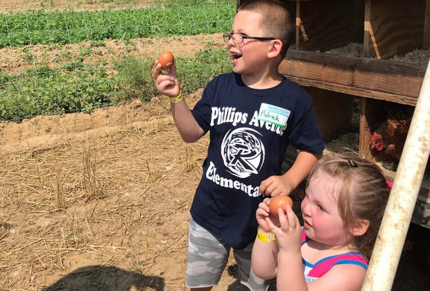Explore the wonders of nature at Little Farmer Explorers at Garden of Eve Organic Farm. Photo courtesy of the farm