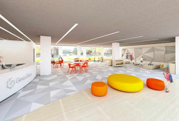Architect's rendering of the brand-new Genius Gems space in Millburn.