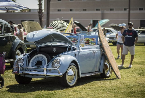 Live music, vintage cars, bathing beauties; this is a Galveston Island tradition you don't want to miss./Photo courtesy of Illumine Photographic Services.