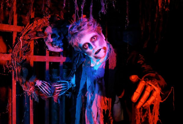 A terrifying cast of characters await your arrival at Scared by the Sound. Photo courtesy of the event