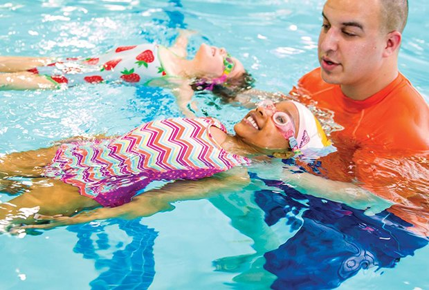 Goldfish Swim School offers classes for children ages 4 months to 12 years.
