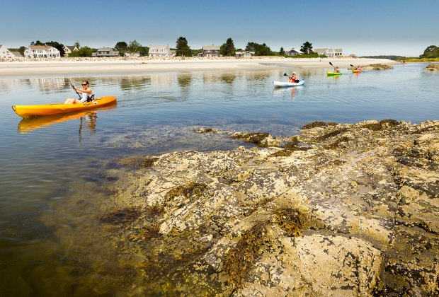 Kayak, hike, beachcomb and more in Kennebunkport. Photo courtesy of Jean Francois Renaud, Flickr/CC by 2.0
