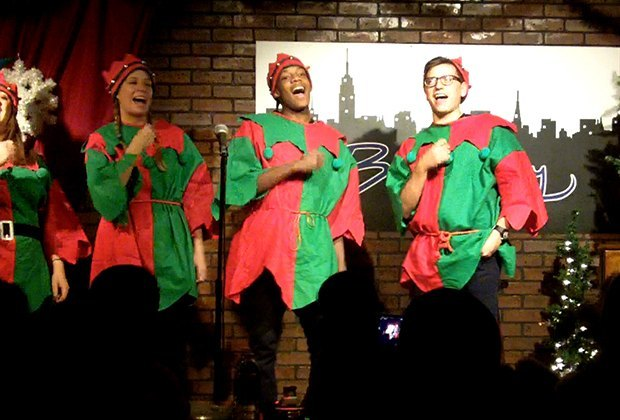 Breakfast with Santa comes with a show at the Broadway Comedy Club. Photo courtesy of the venue