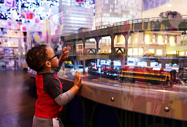 The 17th annual Grand Central Holiday Train Show returns for 2018. Photo by Filip Wolak