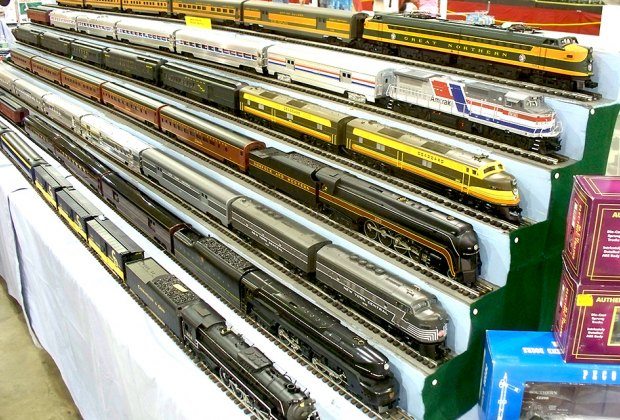Train lovers won't want to miss Greenberg's Train Show this weekend at the NJ Expo Center. Photo courtesy of the show