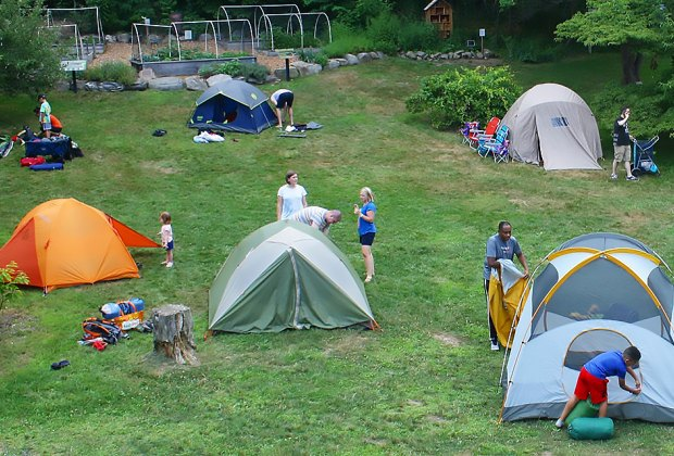Camp out at the Greenburgh Nature Center this weekend. Photo courtesy of the center