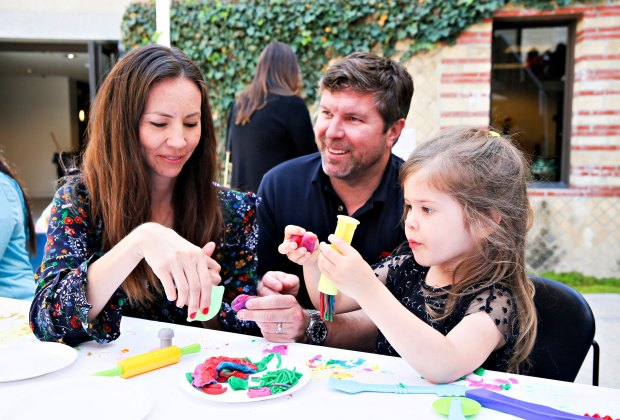 Family fun at the Getty Villa. Photo by Ryan Miller/Capture Imaging courtesy of J. Paul Getty Trust