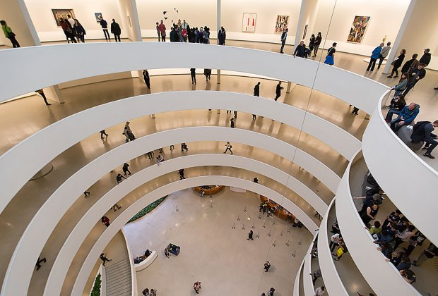 The Guggenheim Museum is one of 33 New York City institutions that will participate in the Culture Pass Program. Photo by Moody Man via Flickr