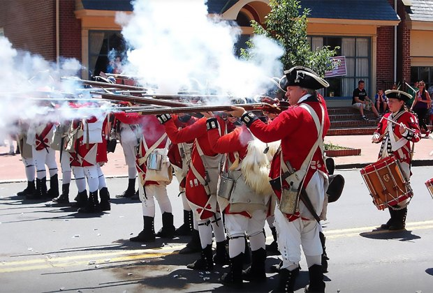 The British are coming on June 1! Photo courtesy of the Haddonfield Skirmish