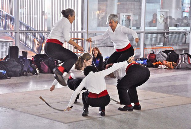 Join MCNY for the New York Sword Dance Festival, which brings an ancient winter celebration to life.  Photo courtesy of the museum