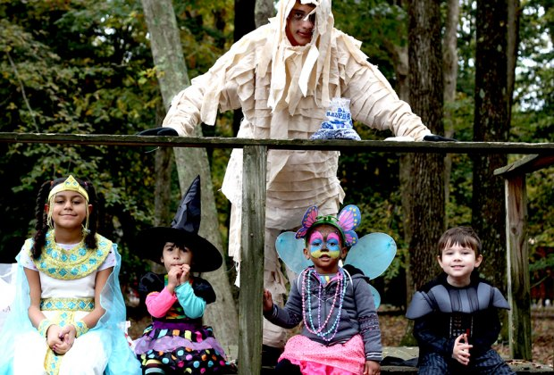 Get ready for Halloween at WheatonArts with trick-or-treating and interactive performances for families at HalloWheaton. Photo courtesy of WheatonArts