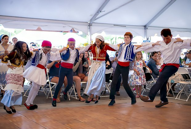 Celebrate Greek dance, food, and culture at the annual Hamptons  Greek Festival in Southampton. Photo courtesy of the festival