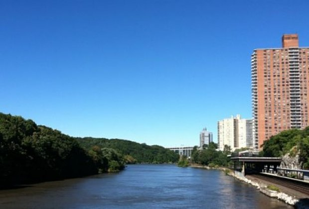 The Broadway Bridge offers lovely views of the Harlem River