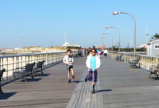 explore a boardwalk