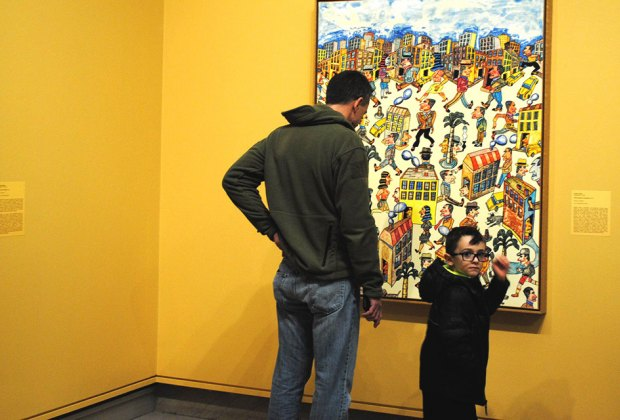 Fathers and grandfathers enjoy FREE admission to the Heckscher Museum of Art in Huntington. Photo courtesy of the museum