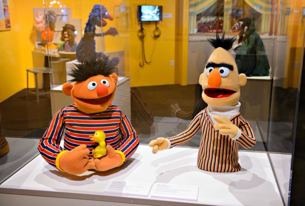 The Jim Henson Exhibition can be seen at the Skirball Cultural Center. Photo by Jim Bennett