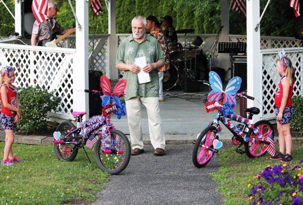 Take part in a bike decorating contest at Highland Falls' 4th of July Festivities. Photo courtesy of the event