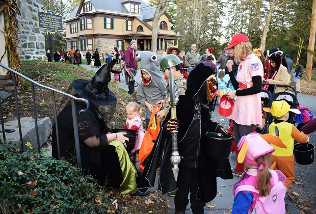 Historic Huguenot Street in New Paltz goes all-out on Halloween. Photo courtesy of Historic Huguenot Street